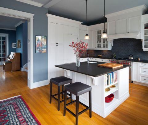 厨房走廊现代风格装修图片