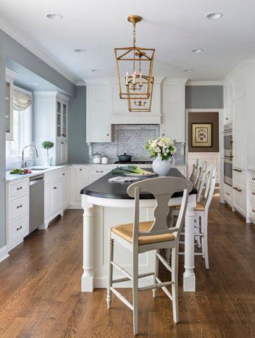 厨房吊顶美式风格装饰设计图片