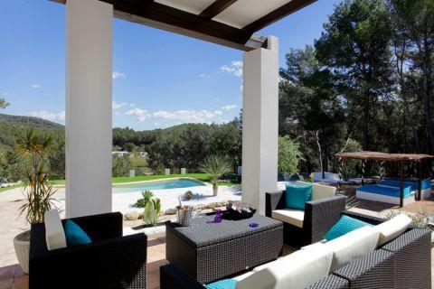 阳台沙发地中海风格装修效果图