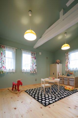 儿童房北欧风格效果图大全2017图片
