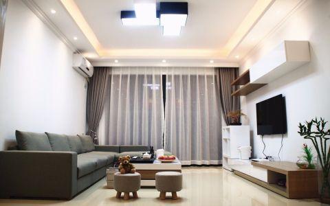 100平方现代简约风格四居室装修效果图