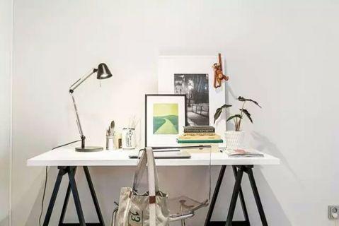 书房书桌北欧风格装修图片