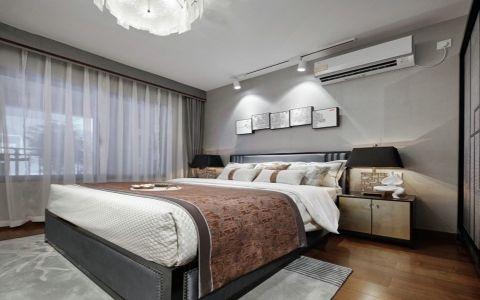 卧室地板砖新中式风格装修效果图