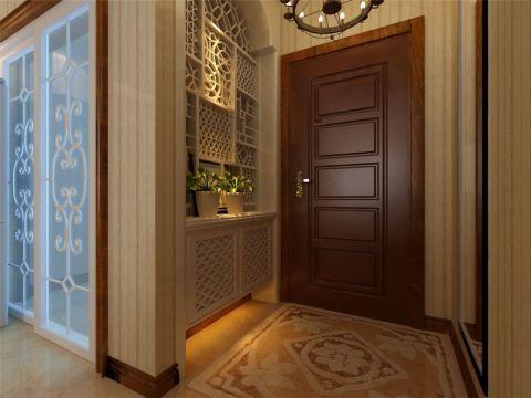 玄关橱柜东南亚风格装潢效果图