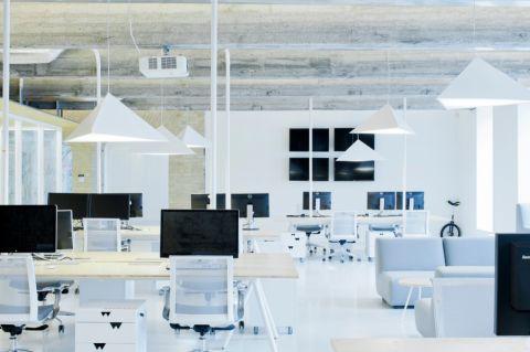 厂家办公室装修设计案例