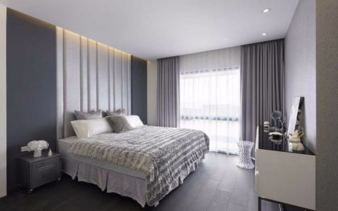 卧室照片墙欧式风格装潢设计图片