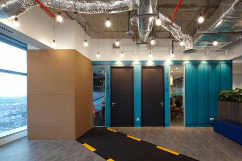汽车超人公司办公室装修设计案例