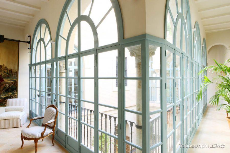 2020地中海阳光房设计图片 2020地中海落地窗装饰设计