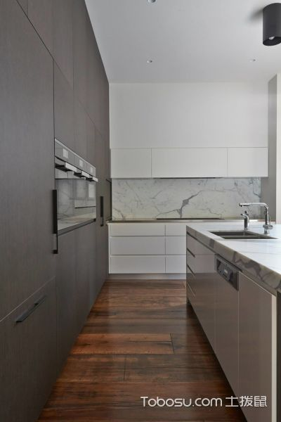 2019现代厨房装修图 2019现代走廊效果图
