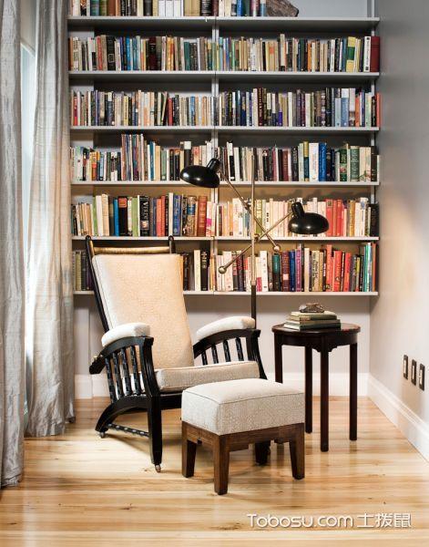 书房白色沙发现代风格装修设计图片