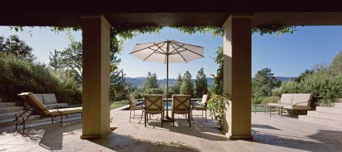 花园楼梯地中海风格装修设计图片