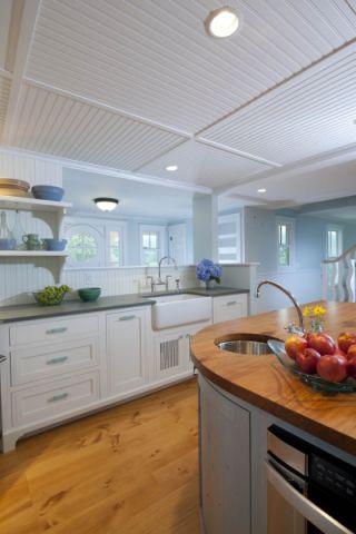 厨房吊顶现代风格装饰效果图