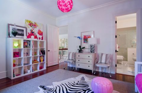 儿童房沙发混搭风格装饰设计图片