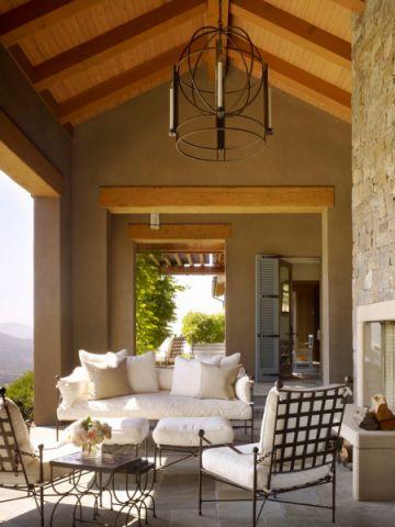 阳台沙发地中海风格装潢设计图片