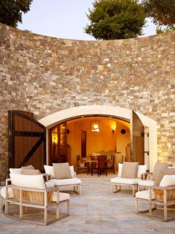 阳台隔断地中海风格装饰效果图