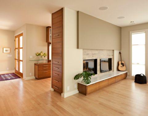 客厅背景墙现代风格装潢效果图