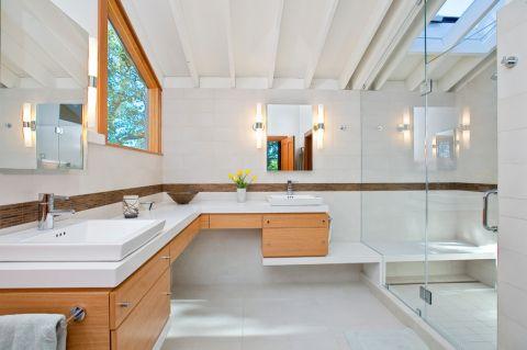 现代风格庭院299平米装修图片