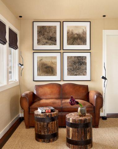 起居室沙发现代风格装潢效果图