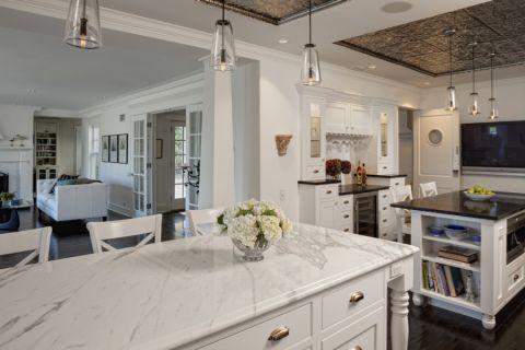 厨房走廊美式风格装饰图片
