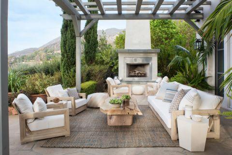阳台沙发现代风格装饰设计图片