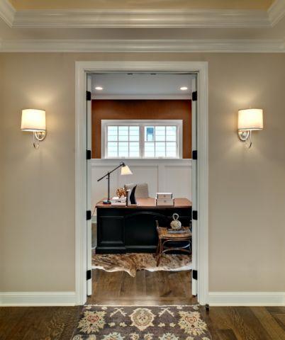 书房窗台美式风格效果图