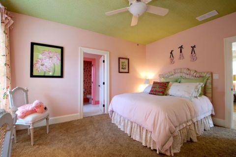 卧室吊顶混搭风格装修效果图