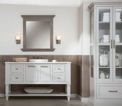 浴室吊顶北欧风格装潢图片