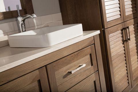 浴室洗漱台北欧风格装饰设计图片