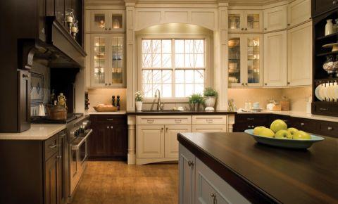 厨房窗台北欧风格装修效果图