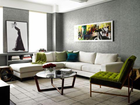 122平米楼房混搭风格装修图片
