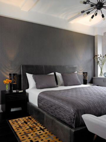 卧室床头柜混搭风格装修图片
