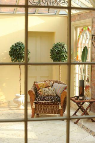 阳光房沙发混搭风格装潢图片