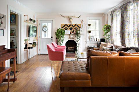 混搭风格三居室177平米装饰设计图片