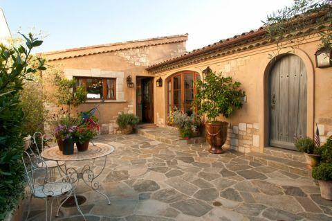 庭院165平米地中海风格装修实景图片