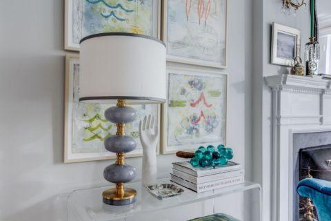 客厅细节混搭风格装修图片