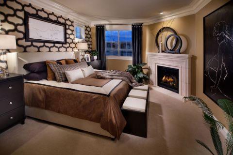 地中海风格三居室109平米装修图片