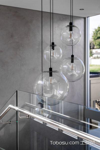 客厅白色灯具现代风格效果图