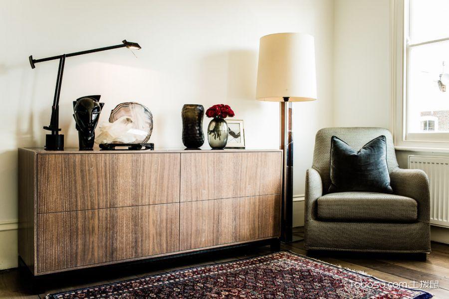 卧室绿色沙发混搭风格装饰设计图片