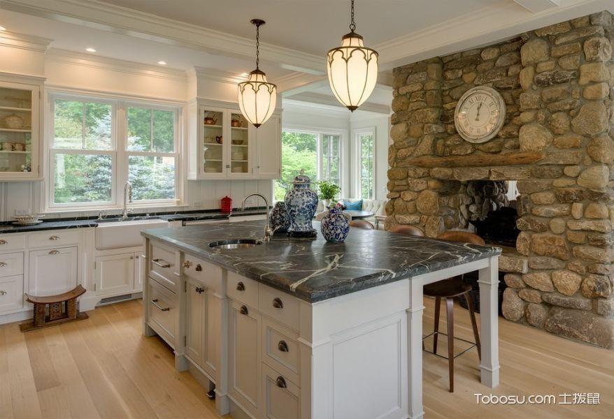 厨房混搭风格效果图大全2017图片