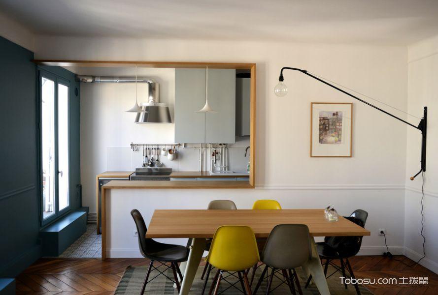 餐厅咖啡色现代风格装饰图片