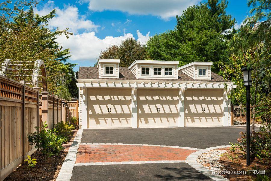 2020美式車庫裝修圖片 2020美式地磚裝飾設計