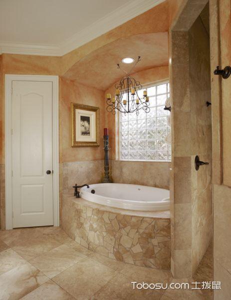 浴室地中海风格效果图大全2017图片