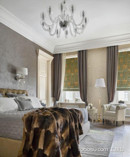 100平米公寓美式装饰实景图
