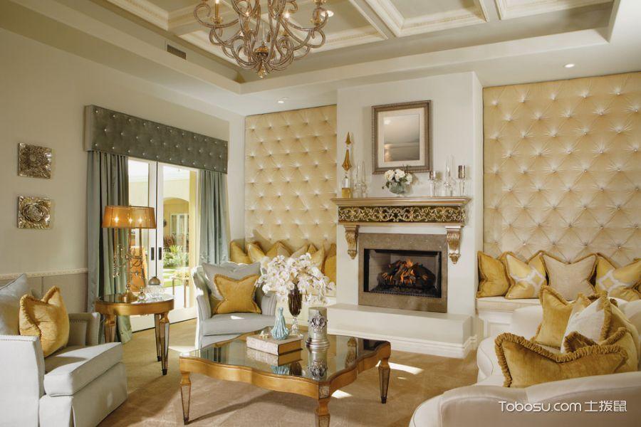 客厅美式格风格效果图大全2017图片