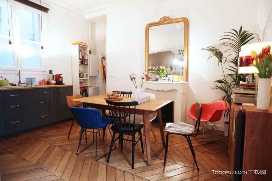餐厅混搭风格效果图大全2017图片