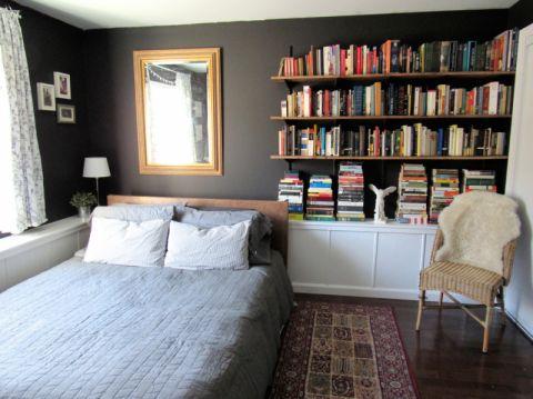 卧室背景墙混搭风格装潢效果图