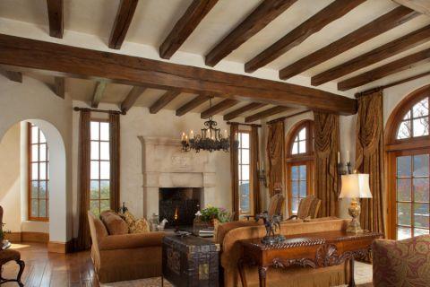 别墅300平米地中海风格装修图片
