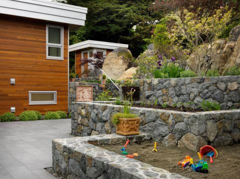 花园楼梯现代风格装修设计图片