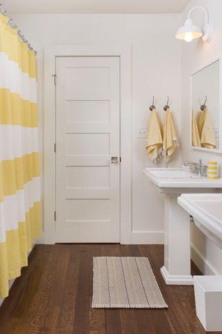 浴室隔断美式风格装潢图片