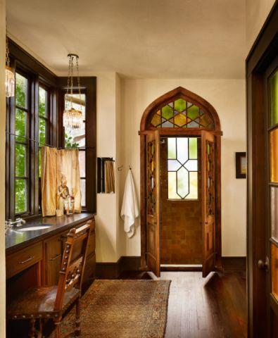浴室窗台地中海风格装潢设计图片